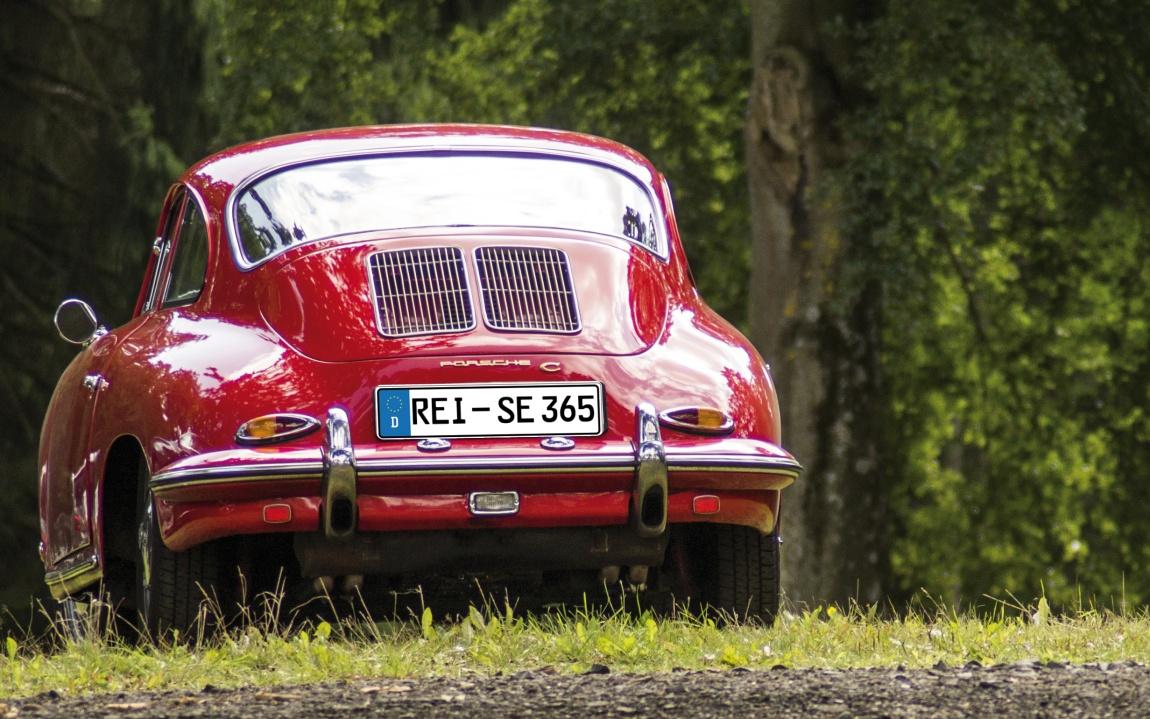 Porsche Oldtimer Sportwagen