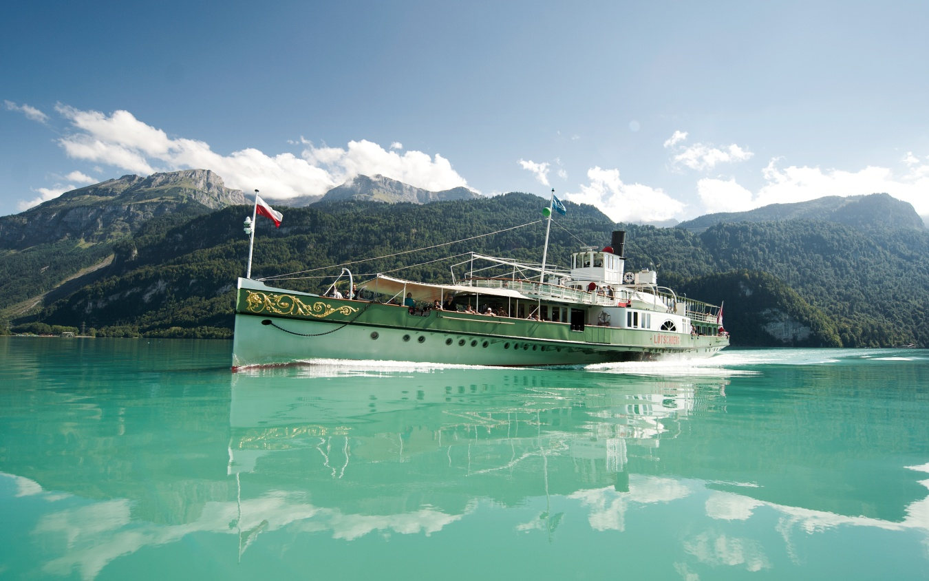 Classic Dampfschiff Berner Oberland Thunersee Brienzer See