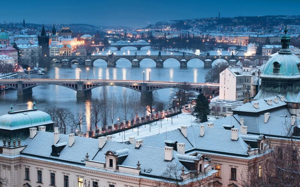 Prag Winter Adventszeit