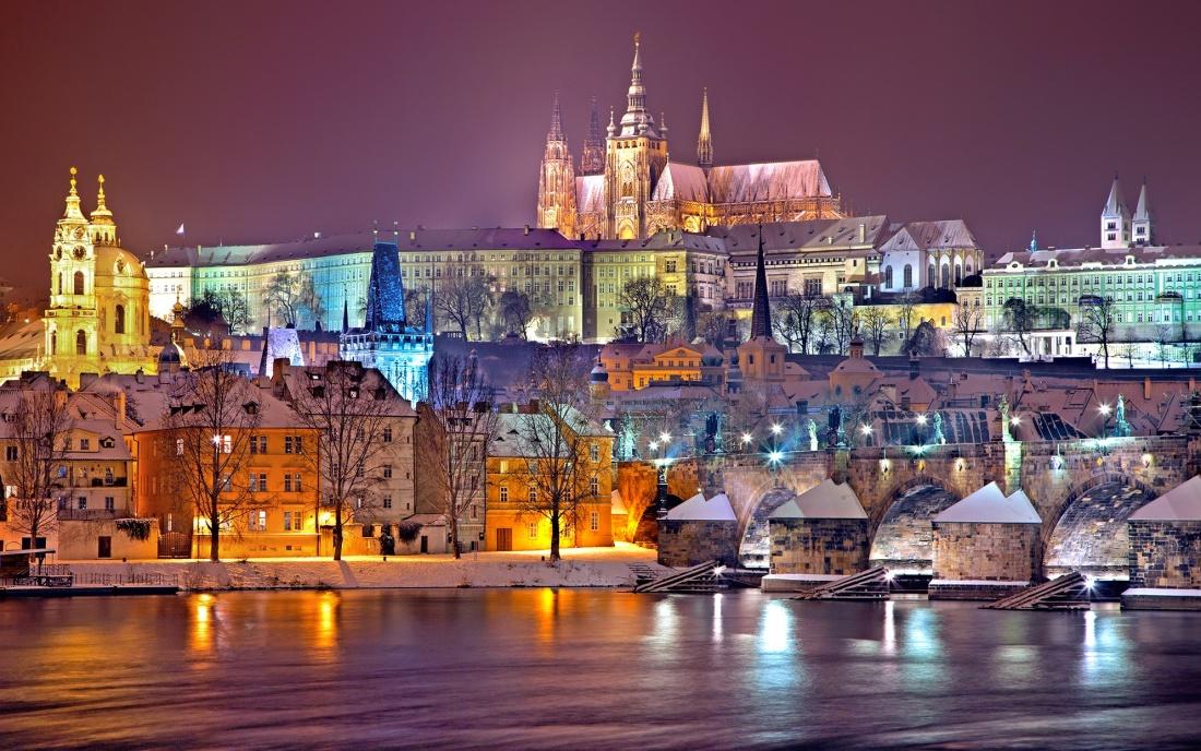 Prag Winter Weihnachtsmarkt Advent