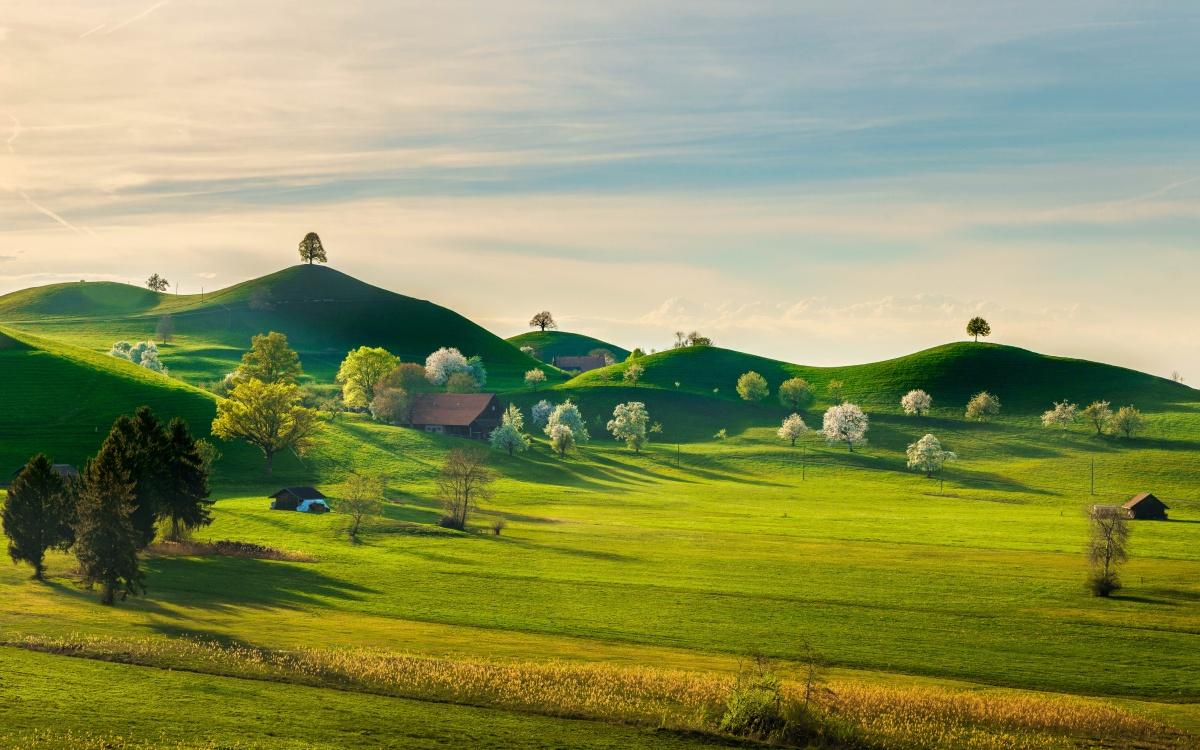 Appenzeller Land Voralpen Schweiz