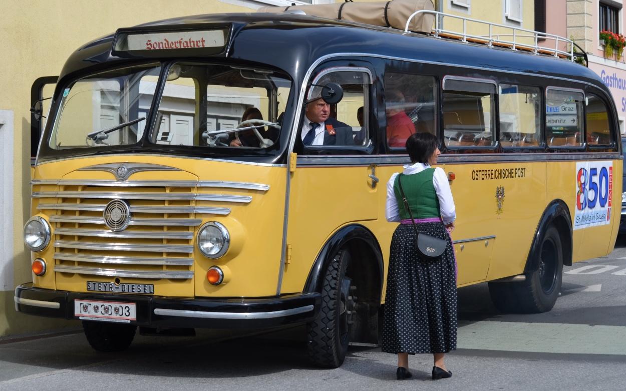 Oldtimer Omnibus Classic Fahrzeug