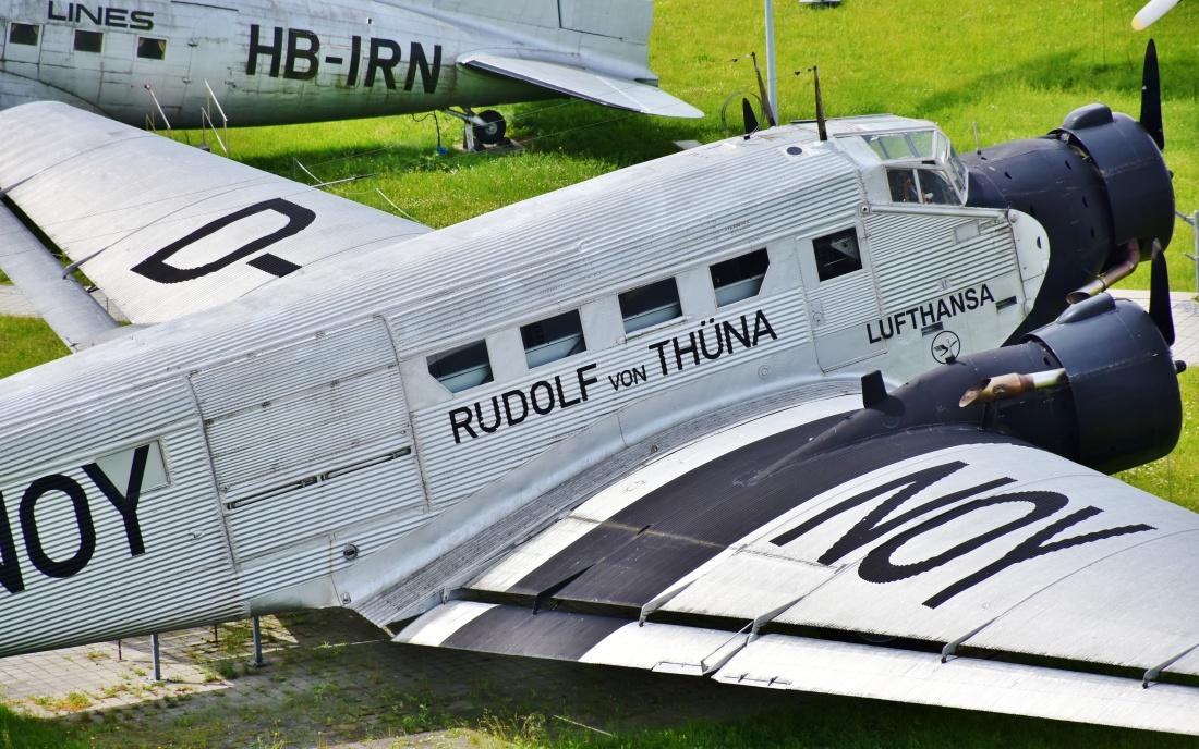 Classic Nostalgie Flugzeug Tante JU, JU 52
